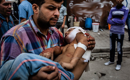 сирийский обстрел