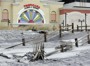 Hurricane Sandy silences Atlantic City's casinos